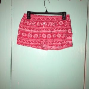 Vs pink sleep shorts